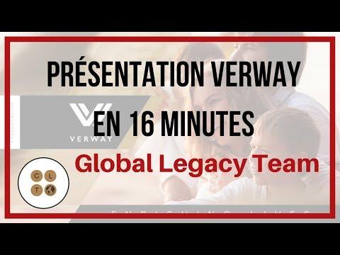 Presentation en 16 Minutes VERWAY France Belgique Suisse
