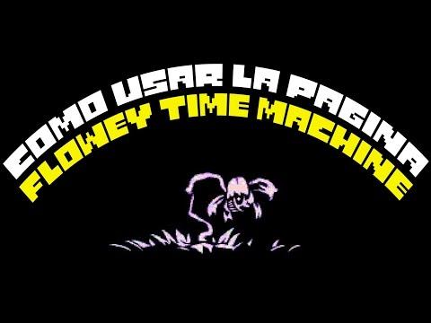 undertale flowey s time machine