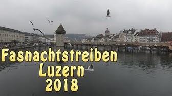 Fasnachtstreiben Luzern 2018 4K