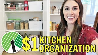 $1 Kitchen Organization from the Dollar Tree