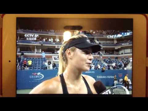 2014 US Open 3rd Round Maria Sharapova Post-Match Interview
