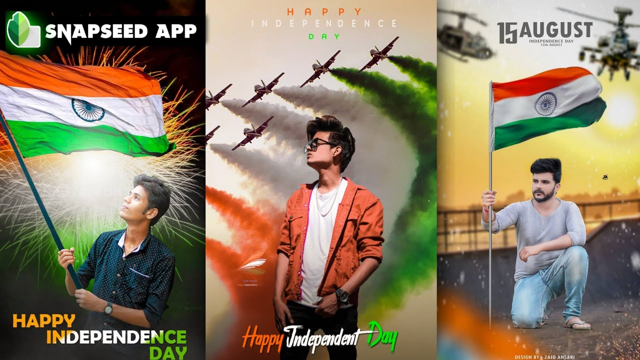 Snapseed 15 August Photo Editing Trick 🇮🇳 | Independence Day photo editing - AF EDIT