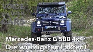 Fahreindruck Mercedes Benz G 500 4x4² Fahrbericht VLOG Voice over Cars Review