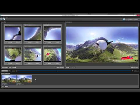 Advanced 360 Video Processing - Autopano Video 1.1 - Blender - After Effects