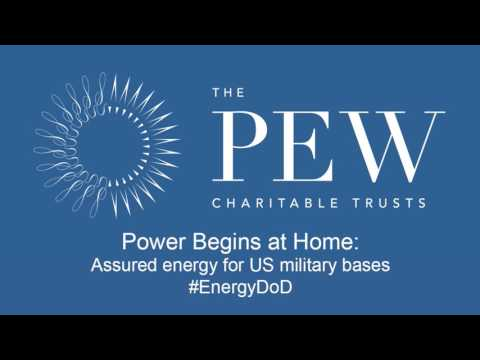 Power Begins at Home: Assured energy for U.S. military bases