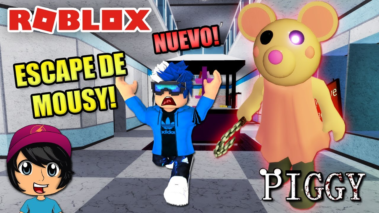 ESCAPE DE MANDY MOUSE! PIGGY NUEVO!!   Soy Blue   Piggy Roblox Español