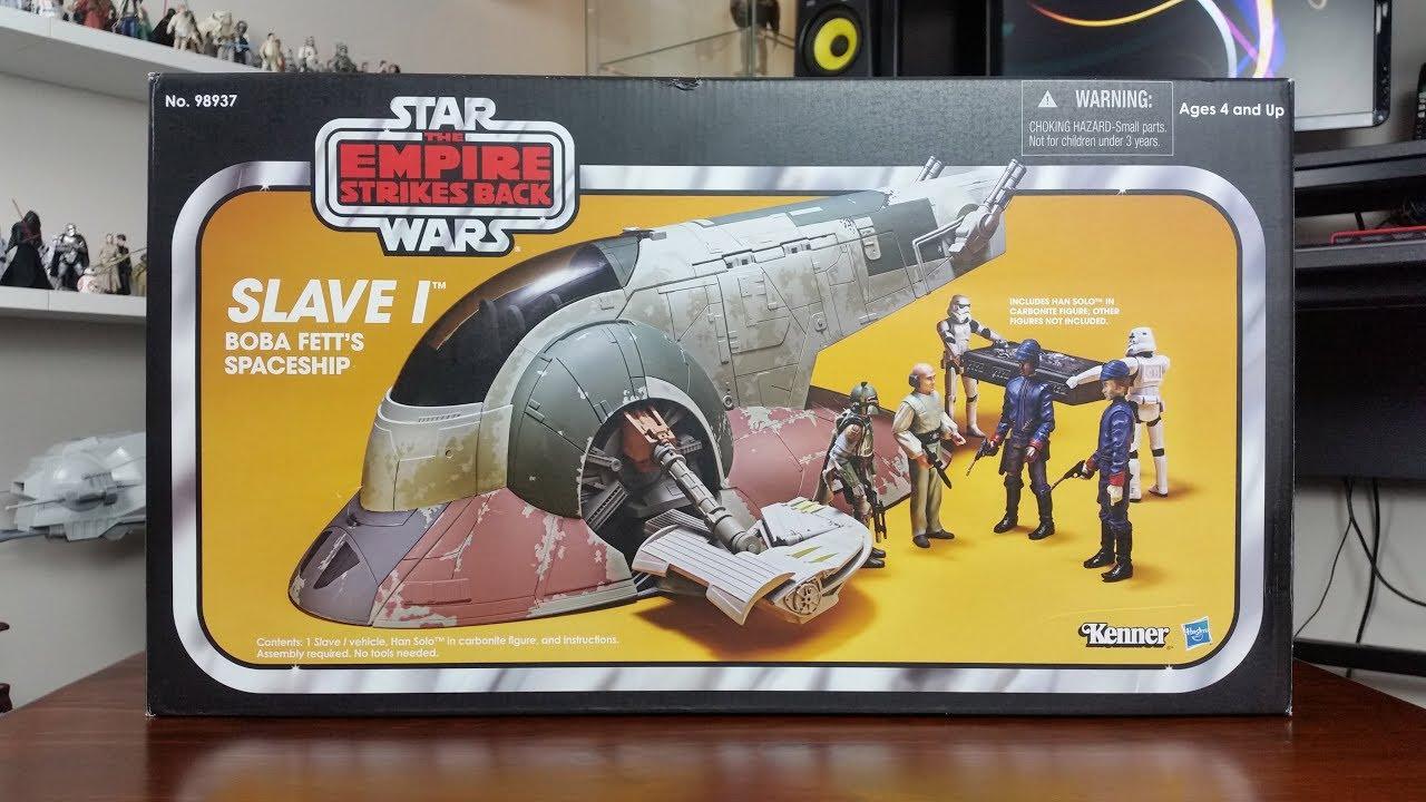 Star Wars The Vintage Collection Slave I Unboxing And Reveiw Youtube