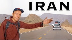 CRAZY HITCHHIKING IRAN  (11 Cars/500 KM in One Day)