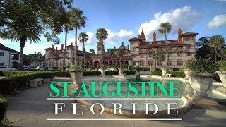 St-Augustine, la plus vieille ville aux États-Unis