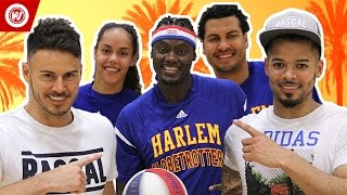 F2Freestylers vs. Harlem Globetrotters | F2 GOES HOLLYWOOD