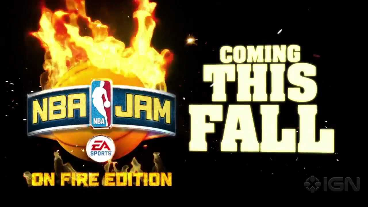 NBA JAM: On Fire Edition - First Look Trailer - YouTube
