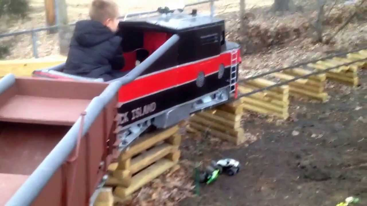 Paul Fairchild Homemade Train Updated To Diesel Different