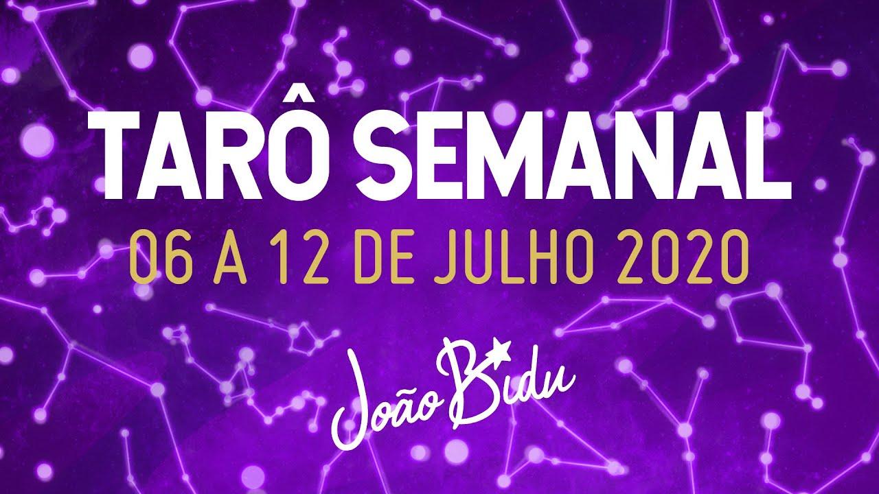 PREVISÕES DO TARÔ PARA A SEMANA 06 A 12 DE JULHO com Ikaro Lopez | POR JOÃO BIDU