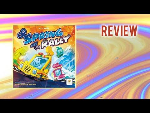 Spring Rally (Mandoo Games) / Review / Regelerklärung + Fazit / Brettspiel / Essen Neuheit!