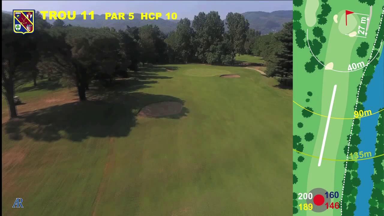 Vidéo du trou numéro 11 | Golf La Barouge Mazamet