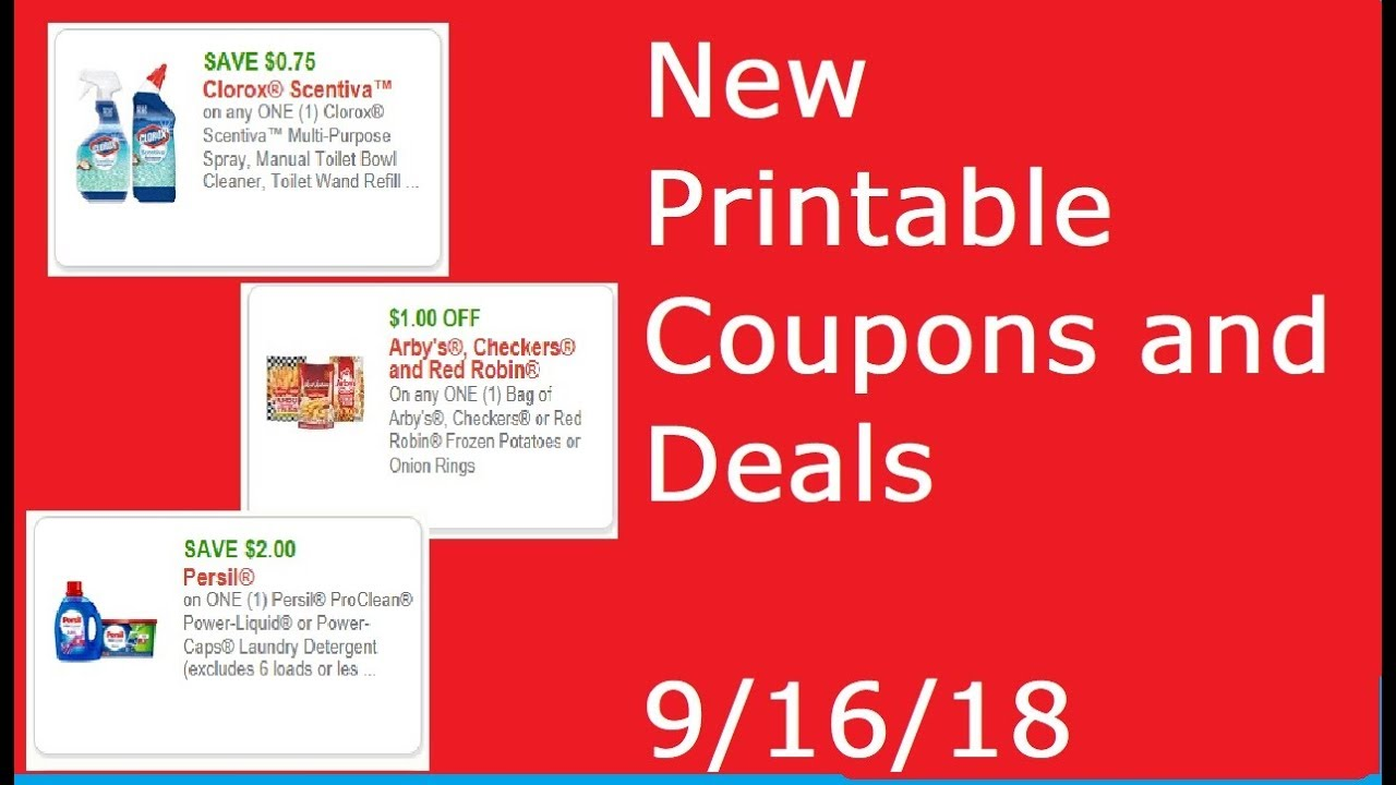 photo regarding Red Robin Printable Coupons named Fresh Printable Discount codes AND Specials!- 9/16/18