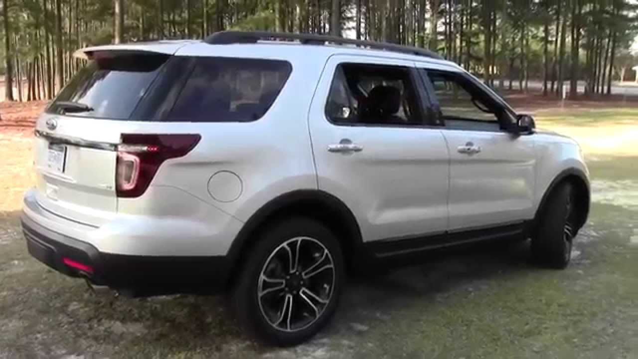 Ford Explorer Ecoboost >> 2013 Ford Explorer Sport 4wd With Ecoboost Suv Detailed Walkaround