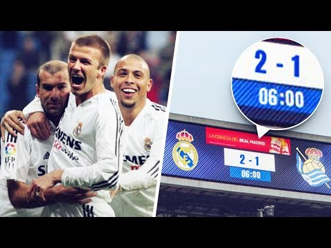 The day Real Madrid won a match that ONLY lasted 6 minutes | Oh My Goal