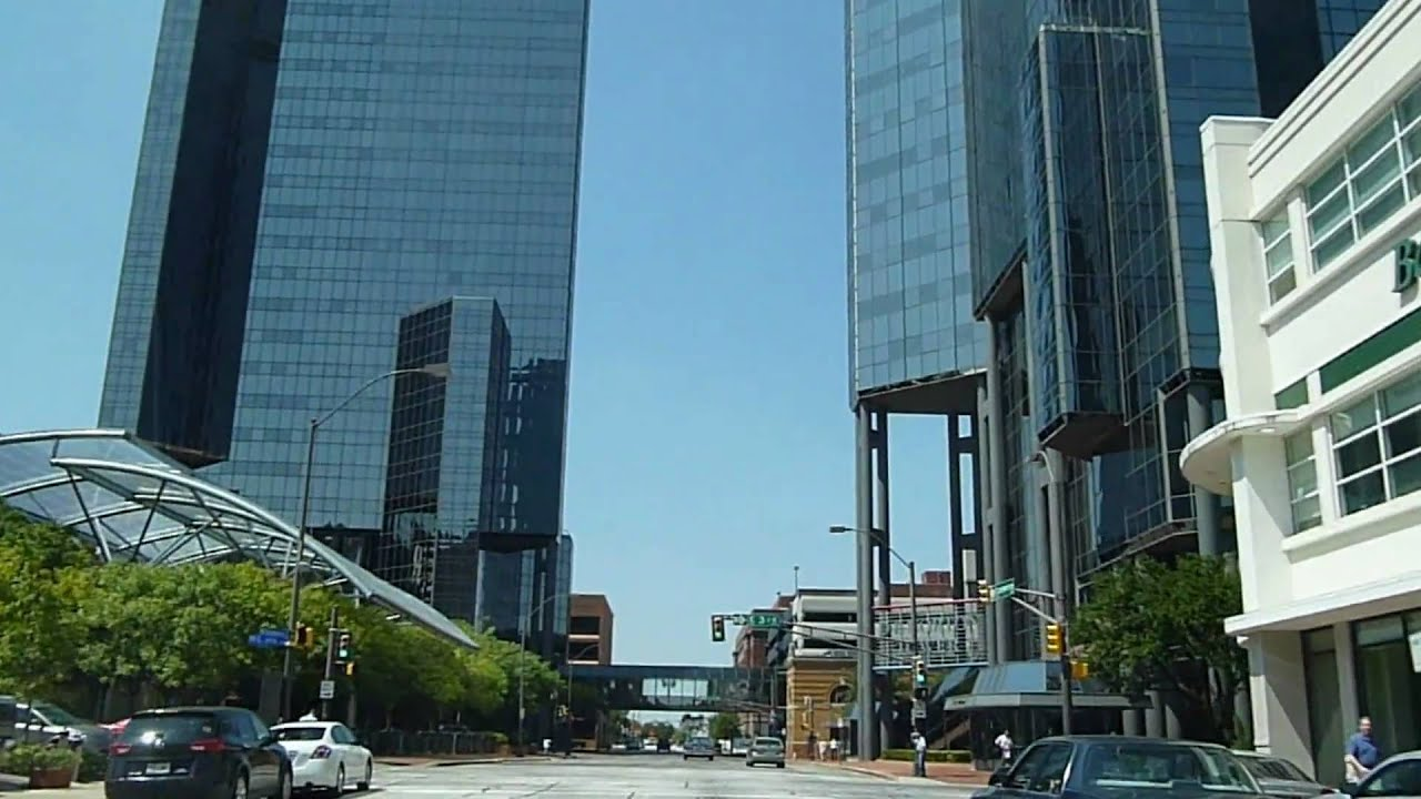 Drive In Downtown Fort Worth Texas Youtube