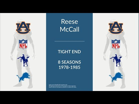 Reese McCall: Football Tight End