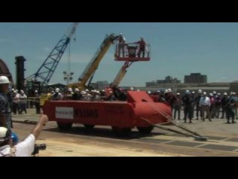USS Gerald Ford features new aircraft launch system