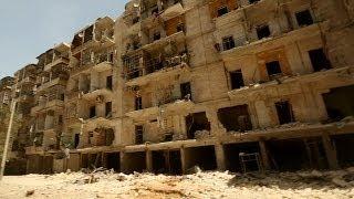 BBC yerle bir olan Halep'te - BBC TÜRKÇE