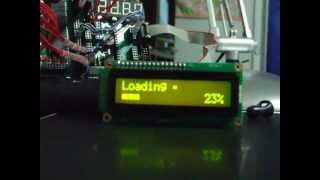Horizontal Analog Bar-graph with LCD Character, 16x2 (The Power of CGRAM)