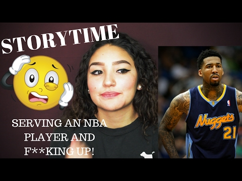 STORYTIME: Serving WILSON CHANDLER & F**KING UP!