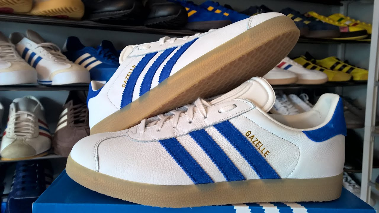 8d711b0ce7f7 Adidas Gazelle OG Leather (unboxing   on foot) - YouTube