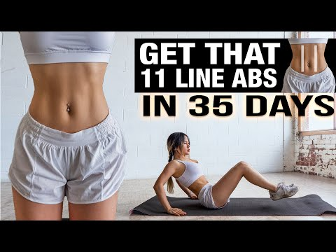 Abs Workout 🔥Get that 11 Line Abs in 35 days