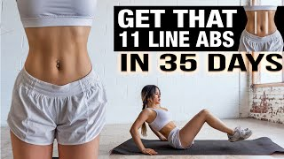Abs Workout 🔥Get that 11 Line Abs in 35 days YouTube Videos
