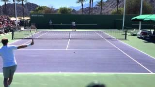 【テニス】フェデラーと名プレーヤーエドバーグの時代を超えたラリー!