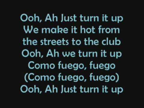 The Cheetah Girls - Fuego(lyrics)