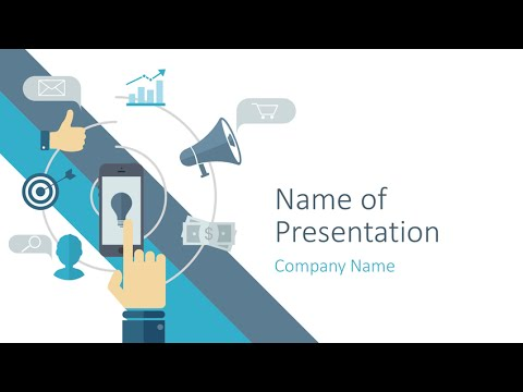 Digital Marketing Powerpoint Template Presentationdeck Youtube