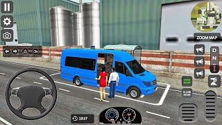 Mercedes-Benz Sprinter 519 CDI Minibus Driving Simulator - Android Gameplay