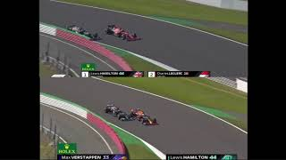 FRAME BY FRAME! Hamilton vs. Verstappen / Hamilton vs. Leclerc in Copse Corner Silverstone 2021