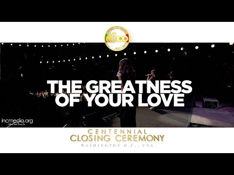 The Greatness of Your Love  C3