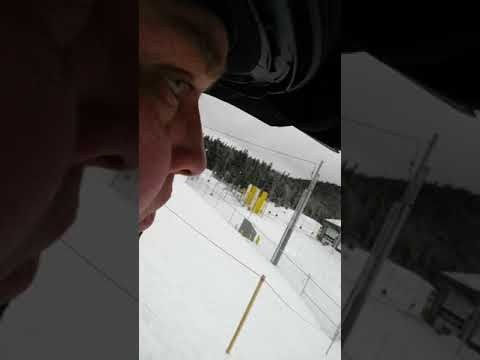 United States/Canadian border snowmobiling Pittsburg New Hampshire 2-24-18
