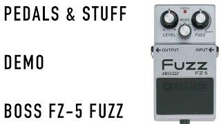 BOSS FZ-5 demo