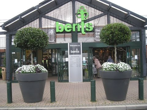 Bents Garden Centre visit in November