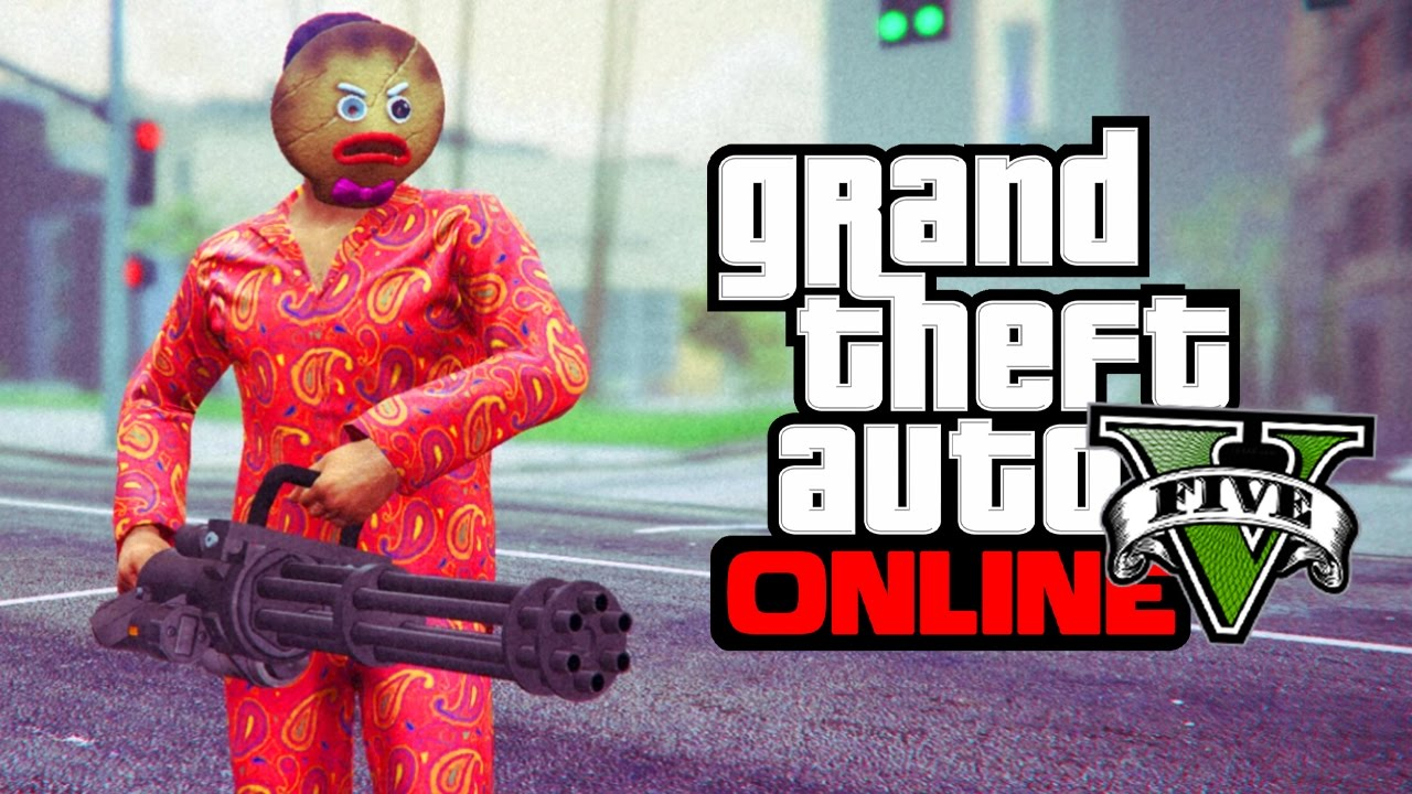 Gta 5 Online Christmas Masks.Gta 5 Online How To Get The Angry Gingerbread Man Christmas Mask Gta 5 Glitches Tricks