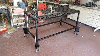 PROGETTO TAVOLO PER SALDATORE - welding table project