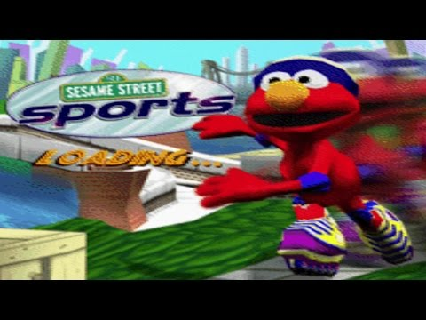 Sesame Street Sports Elmo's Skating Race Game Full Walkthrough Kids Games