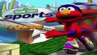 Sesame Street Sports Elmo's Skating Race Game Full Walkthrough Kids Games