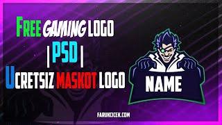 DR. Gaming Logo Free | PSD | Ücretsiz Maskot Logo