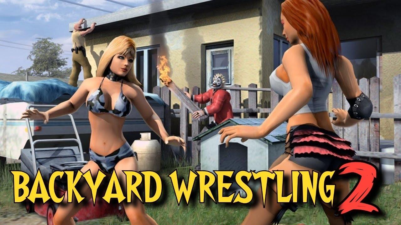 Backyard Wrestling 2 There Goes the Neighborhood EPIC FAIL STREAM  YouTube