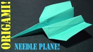 Origami Daily - 573: Needle Plane - Tcgames [hd]