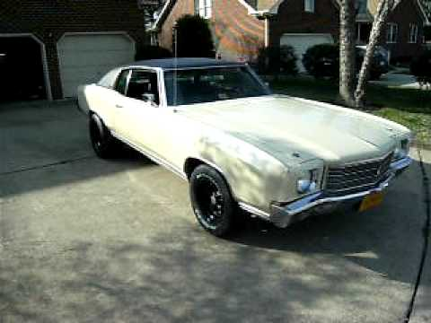 1970 chevrolet monte carlo - youtube