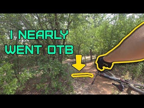 I nearly went OTB! Exploring the trails at Wichita Falls, Texas
