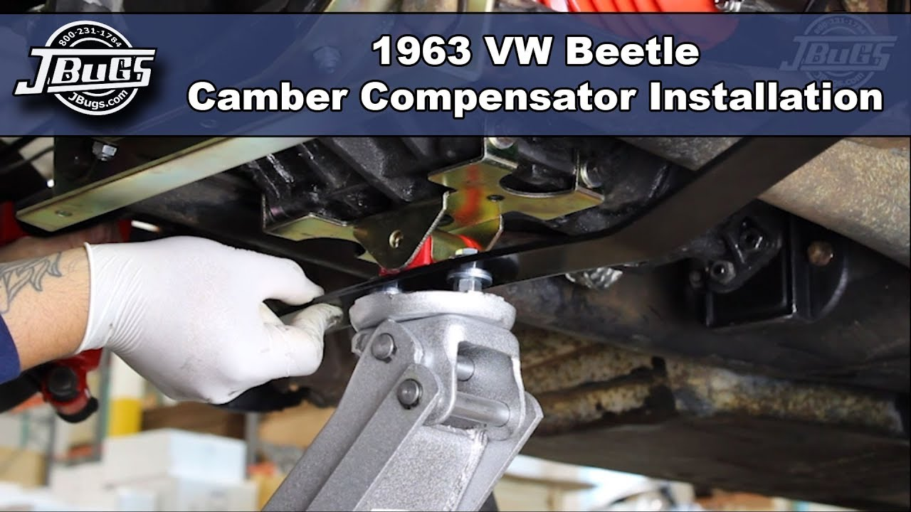 Jbugs 1963 Vw Beetle Camber Compensator Installation Youtube 1971 Super Wiring Harness Autos Post